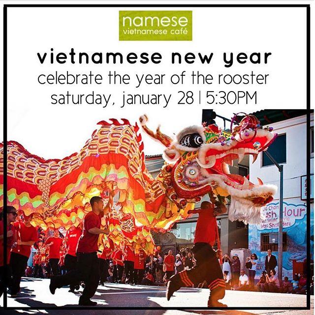 Vietnamese New Year at Namese